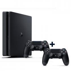 SONY PS4 500GB Slim +2 Kol Siyah Oyun Konsolu